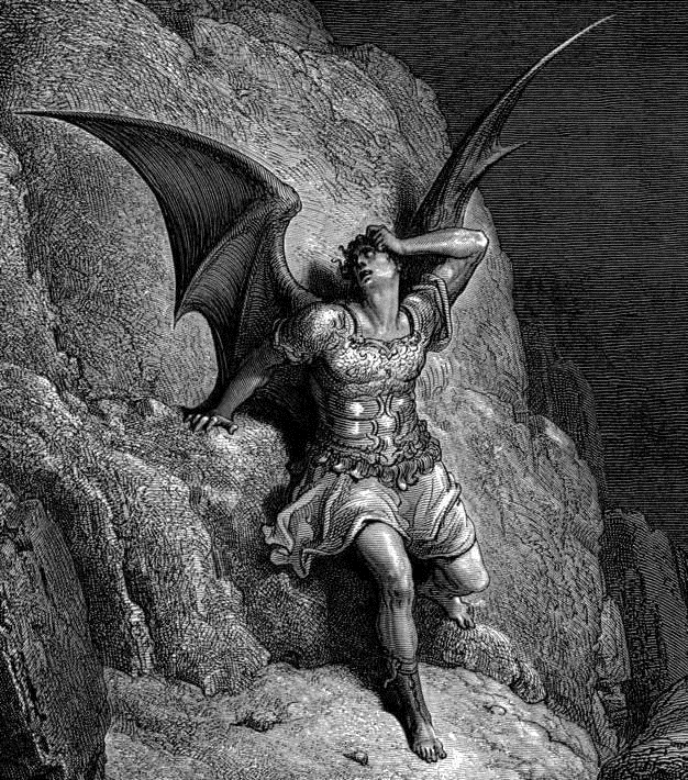 an analysis of satan as a sympathetic hero in paradise lost