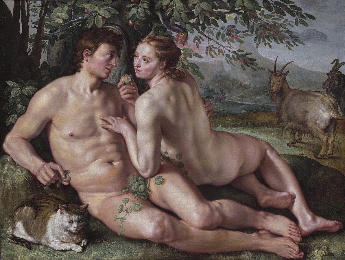 Адам и ева в порно кино